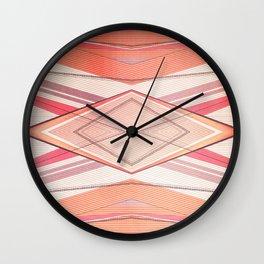 Money Pattern Respect Wall Clock