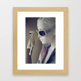 Double Dolce Framed Art Print