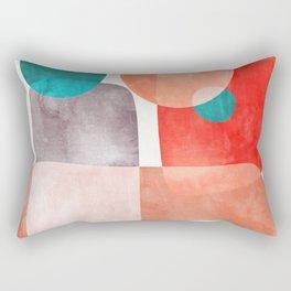 Bridge #abstract #painting Rectangular Pillow