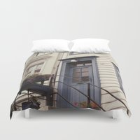 norway Duvet Covers featuring Norway II by Cynthia del Rio