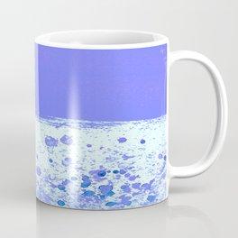 Ink Drop Blue Coffee Mug