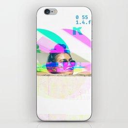GLITCH NATURE #120: Honolulu iPhone Skin