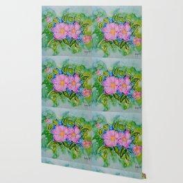 Alberta Wild Rose Wallpaper