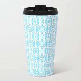 Cyan Pattern 2 Travel Mug