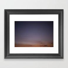 sol oriens Framed Art Print