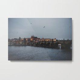 Charles Bridge, Prague  Metal Print