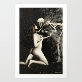 Death and the Maiden II Art Print