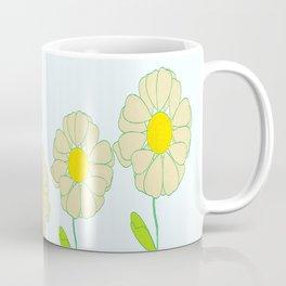Five Daisies Coffee Mug