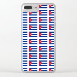 Flag of Chile 2 -Spanish,Chile,chilean,chileno,chilena,Santiago,Valparaiso,Andes,Neruda. Clear iPhone Case