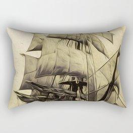 Black Sails Rectangular Pillow