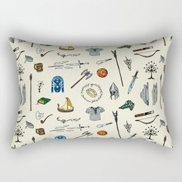 Lord of the pattern Rectangular Pillow