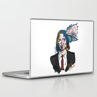 gore Laptop & iPad Skins featuring Kurt Gore Cobain by Alexalco5