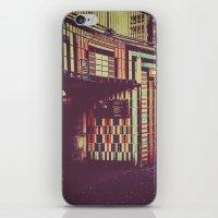 subway iPhone & iPod Skins featuring Subway by Efua Boakye