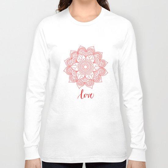 Love Mandala Long Sleeve T-shirt