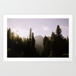 Chasing Light Art Print