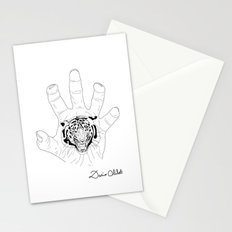 Wild hands Stationery Cards