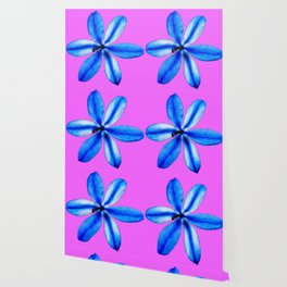 Little Blue Flower Wallpaper