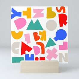 Abc Mini Art Print