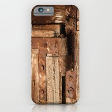 LOST PLACES - dusty rusty hinge iPhone 6s Slim Case