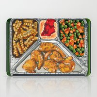 eat iPad Cases featuring Eat Me by Rachel Caldwell