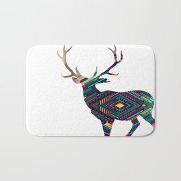 Deer abstract Bath Mat