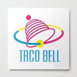 Taco Bell Metal Print
