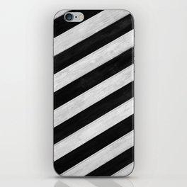 Wood lines iPhone Skin