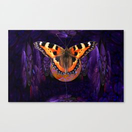 Butterfly Source Power Canvas Print