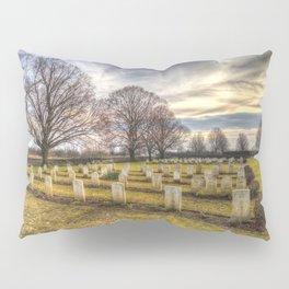 World War 2 War Graves Budapest Pillow Sham