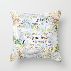 Daughter of the Forest - You Are What You Are Throw Pillow