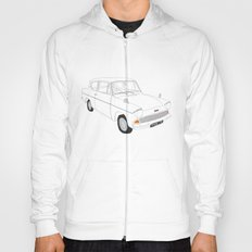 Weasley's Flying Ford Anglia Hoody