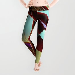 Distant Angle To Trap Fractal Art Leggings