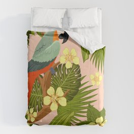 FLORAL AND BIRDS XIV Comforters