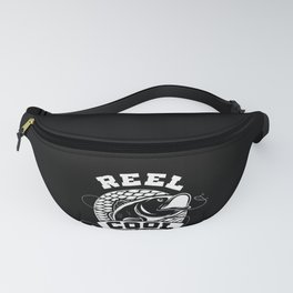 Mens Reel Cool Grandpa Funny print Great Gift For Fisherman Fanny Pack