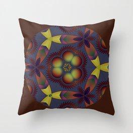 Piranha 17 Throw Pillow