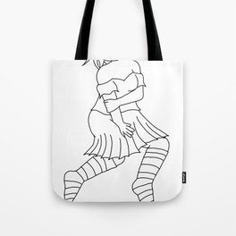 Suspicious Tote Bag