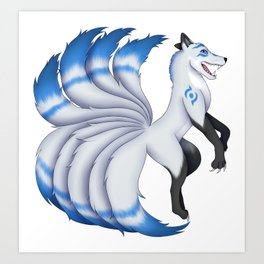 Edan the Kitsune Art Print