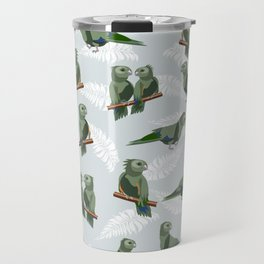 Kea New Zealn bird pattern Travel Mug