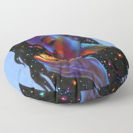Ask the Universe Floor Pillow