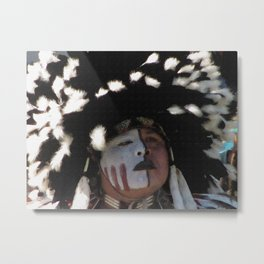 Native American Dancer Metal Print