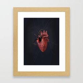 The Heart of a Loner Framed Art Print