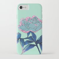 peony iPhone & iPod Cases featuring Peony by Ludovic Jacqz