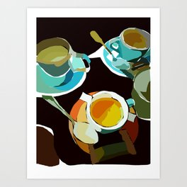 Time with Friends Art Print