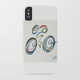 Bicycle - Zoomin' Through iPhone Case