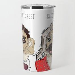 Celebrity Dogs-Ryan Chew-Crest & Kelly Ruff-A Travel Mug