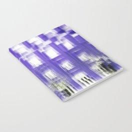 Purple building Notebook