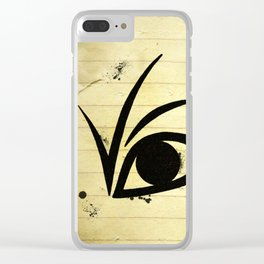 A SERIES OF UNFORTUNATE EVENTS EYE Clear iPhone Case