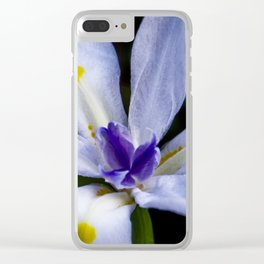 white lily I Clear iPhone Case