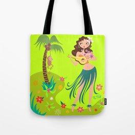 Hula Honey Tote Bag