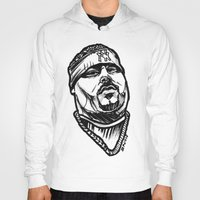 pun Hoodies featuring Big Pun by sketchnkustom